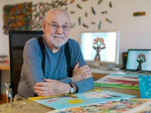 Author & Illustrator Eric Carle dies. 1929-2021
